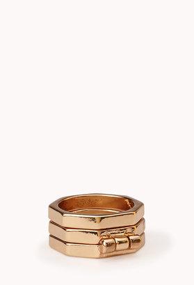 Forever 21 Modernist Hinged Ring