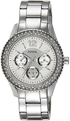 Fossil Women's ES3588 Stella Multifunction Stainless Steel Watch $115 thestylecure.com