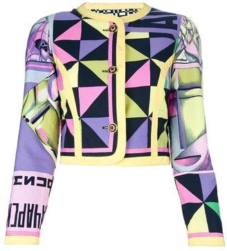 Versace Istante By Gianni Vintage print jacket