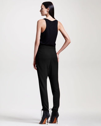 Givenchy Slim Pleated Pants