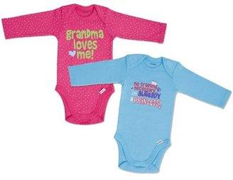 Gerber Baby-Girls Newborn 2 Pack Bodysuits
