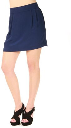 NAVEN Silk Skinny Mini Skirt