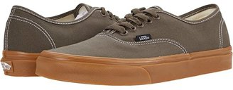 Vans Authentic ((Pig Suede) Marshmallow/True White) Skate Shoes