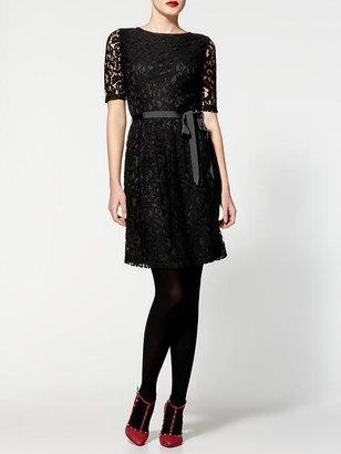 Pim + Larkin Boatneck Lace Dress