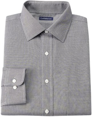 Croft & Barrow® Classic-Fit Solid Oxford Easy-Care Spread-Collar Dress Shirt