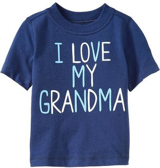 "Old Navy ""I Love My Grandma"" Tees for Baby"