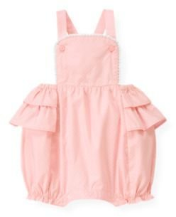 Janie and Jack Ruffle Dotted Shortall
