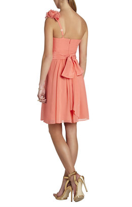 BCBGMAXAZRIA Thalia One-Shoulder Dress