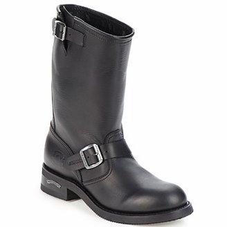 Sendra OWEN men's Mid Boots in Black