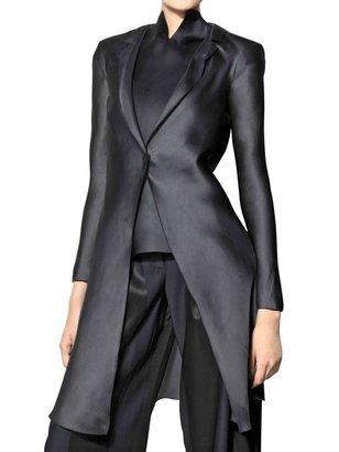 Giorgio Armani Heavy Silk Organza Coat