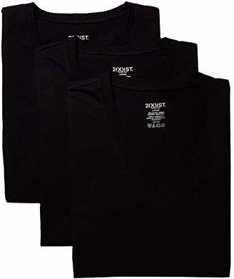 2xist 3-Pack ESSENTIAL Slim Fit V-Neck T-Shirt
