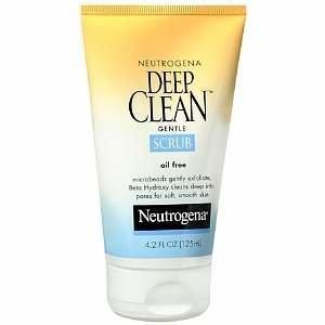 Neutrogena Deep Clean Gentle Scrub, Oil Free