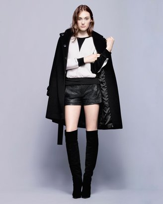 Intermix Menchi For Wool Trench Coat