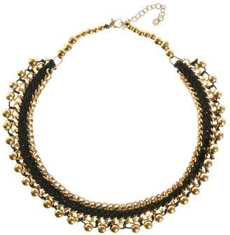 Kasturjewels Metal Woven Necklace