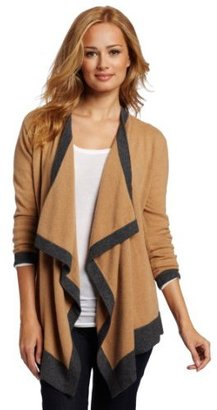 Sofie Women's 100% Cashmere Waterfall Cashmere Cardigan Sweater