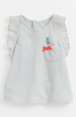 Chloé Ruffle Sleeve Tank Top (Toddler)