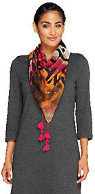 Collection XIIX Collection 18 Dream Catcher Printed Scarf $12.64 thestylecure.com