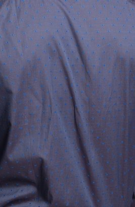 Paul Smith Slim Fit Dot Print Dress Shirt