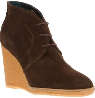Castaner wedge ankle shoe boot