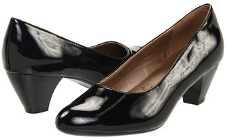 SoftStyle Soft Style - Guiliana (Black Patent) - Footwear