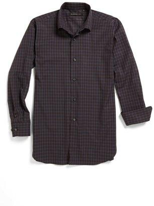 John Varvatos Check Sport Shirt (Big Boys)