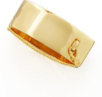 Eddie Borgo Safety Chain Cuff, Yellow Golden