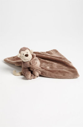 Jellycat Toddler 'Bashful Monkey Soother' Stuffed Animal & Blanket