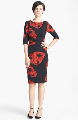 Tracy Reese Floral Print Silk Dress