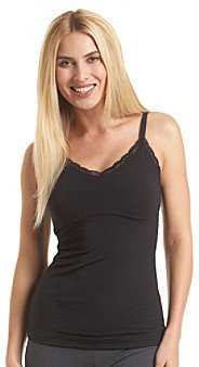 Maidenform Ready to Shape V-Neck Lace Trimmed Tank