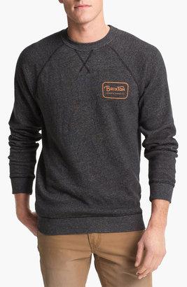 Brixton 'Coda' Graphic Crewneck Sweatshirt