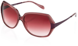 Oliver Peoples Guiselle 63 Square Sunglasses, Purple