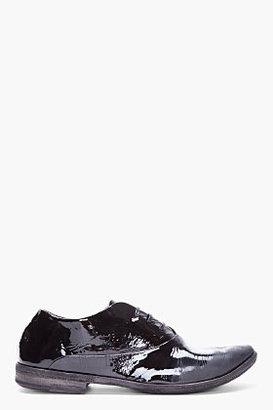 Marsèll Black Patent Leather Oxfords