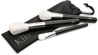 Klix Makeup Brush Set 1 ea
