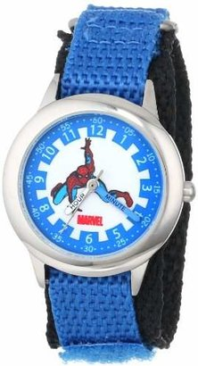 Marvel Kids' W000111 Spider-Man Stainless Steel Time Teacher Watch