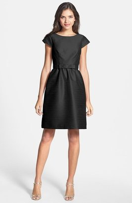 Women's Alfred Sung Woven Fit & Flare Dress $198 thestylecure.com