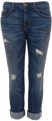 Current/Elliott CURRENT ELLIOTT - Cropped boyfriend jeans
