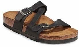 Birkenstock Women's Footbed Leather Sandals