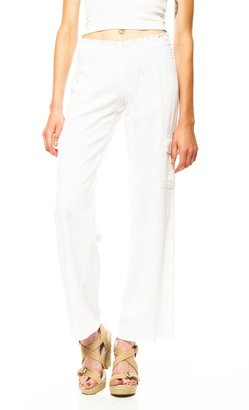 Lucy-Love Lucy Love Cargo Linen Pant