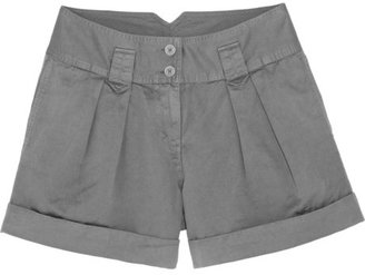 Burberry Cotton and linen-blend shorts