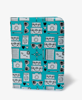 Forever 21 Travel Graphic Passport Wallet