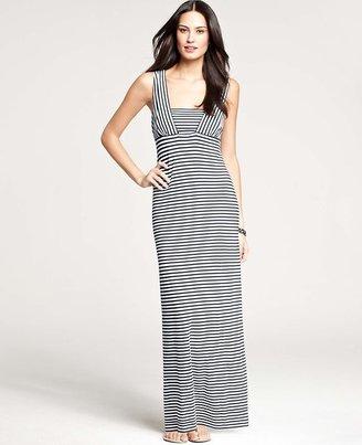 Ann Taylor Tall Striped Maxi Dress