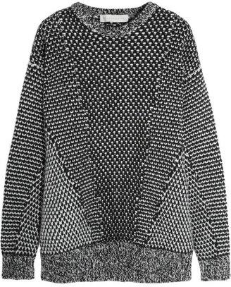 Stella McCartney Oversized wool and angora-blend sweater