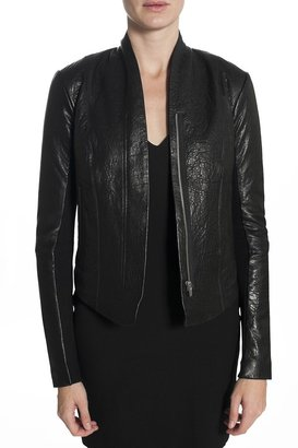 Veda Boss Leather Jacket