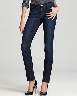 DL1961 Coco Curvy Straight Jeans in Solo $168 thestylecure.com