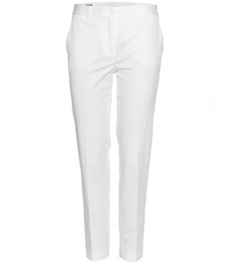 Jil Sander Navy COTTON TROUSERS