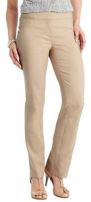 LOFT Julie Straight Leg Pants in Clean Cotton Blend