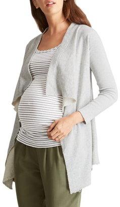 Ingrid & Isabel Drape Front Maternity Cardigan