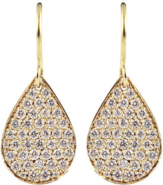 Irene Neuwirth Diamond Pear Shaped Drop Earrings