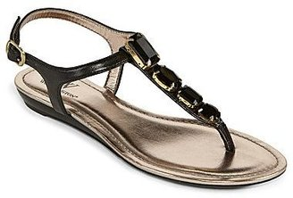 JCPenney Worthington® Krissy Jeweled Flat Thong Sandals
