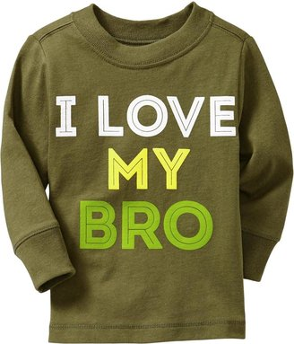 """Old Navy """"I Love My Bro"""" Tees for Baby"""